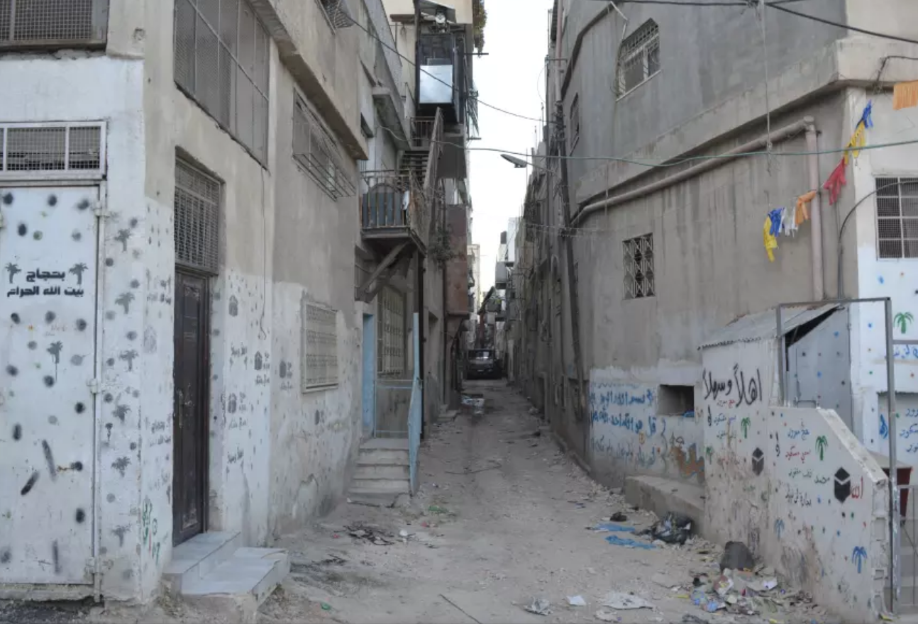 Corridor in Shuafat Camps