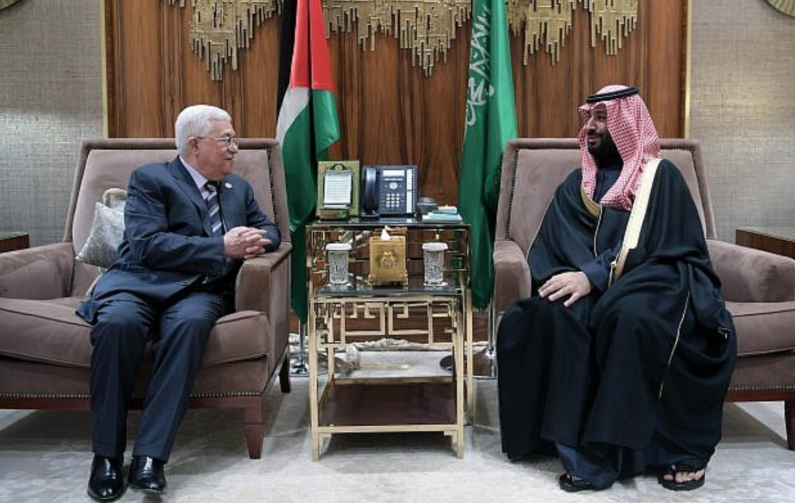 President Abbas and Prince MBS